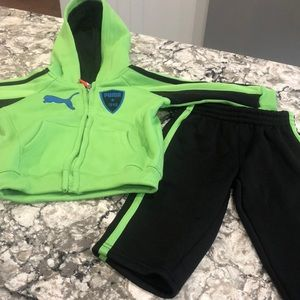 Puma toddler boy track suit 12 months